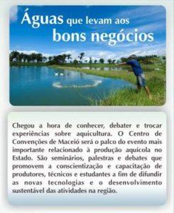 V Seminário Alagoano de Piscicultura e VI Seminário Alagoano de Maricultura