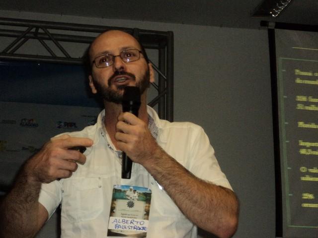 Alberto Lima V Seminário Alagoano de Piscicultura e o VI de Maricultura