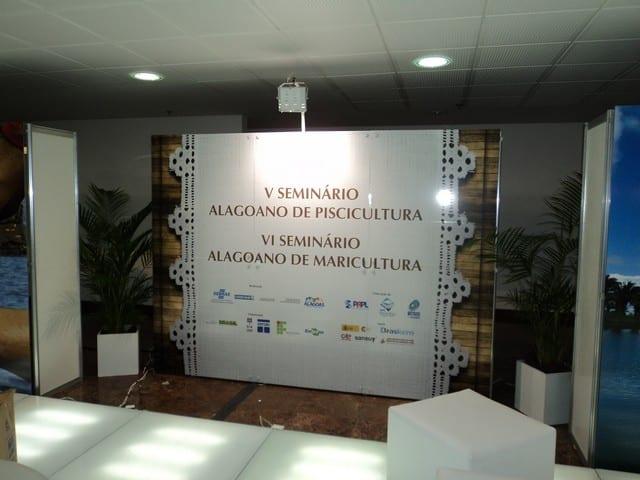 V Seminário Alagoano de Piscicultura e o VI de Maricultura