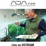 4ebc89ab479461 • #ADA News - Transmissão ao vivo de Takashi Amano e questionário sobre o Aqua Journal.