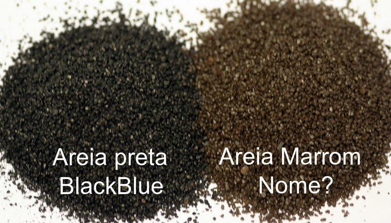 Mbreda Areia preta x marron