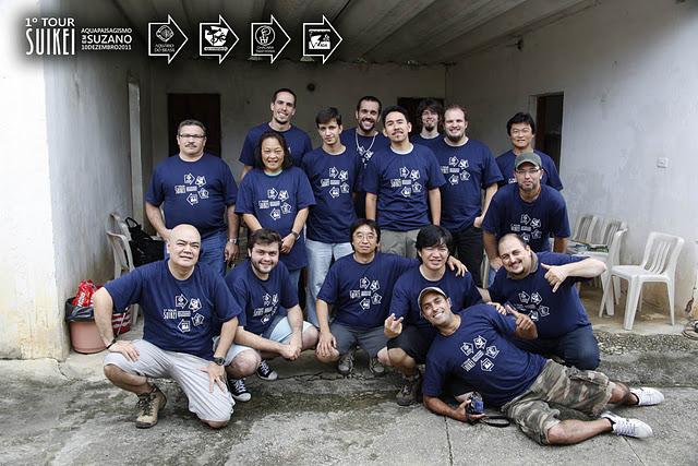 Foto Oficial do 1º Suikei Tour - Suzano