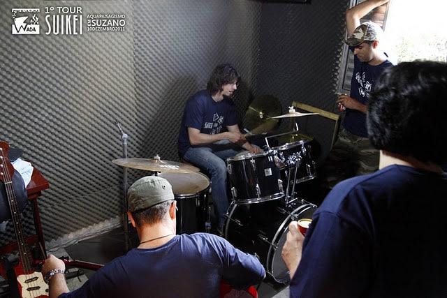 No final ainda tivemos uma Jam session.