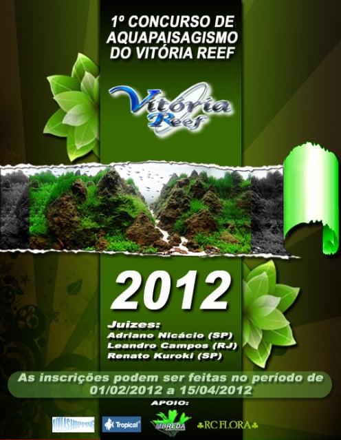 Aquapaisagismo VR • 1º Concurso de Aquapaisagismo do Vitória Reef