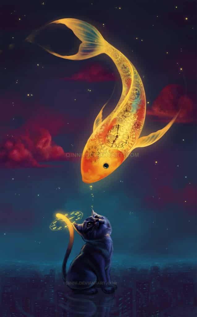 "To Catch A Moon-Fish"" por =Qinni"