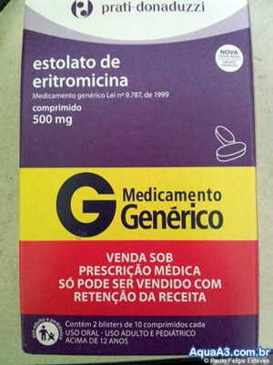 Estolato de Eritromicina