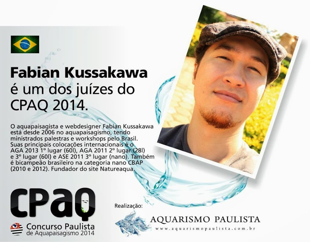 Aquapaisagista Fabian Kussakawa