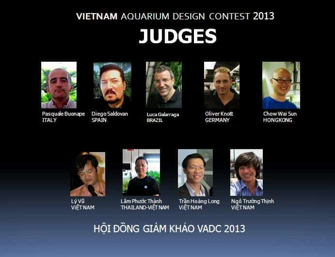 Juízes Resultado do Vietnam Aquatic Design Contest 2013