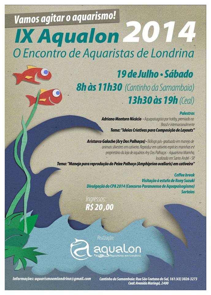IX Aqualon 2014 (Encontro de Aquaristas de Londrina)