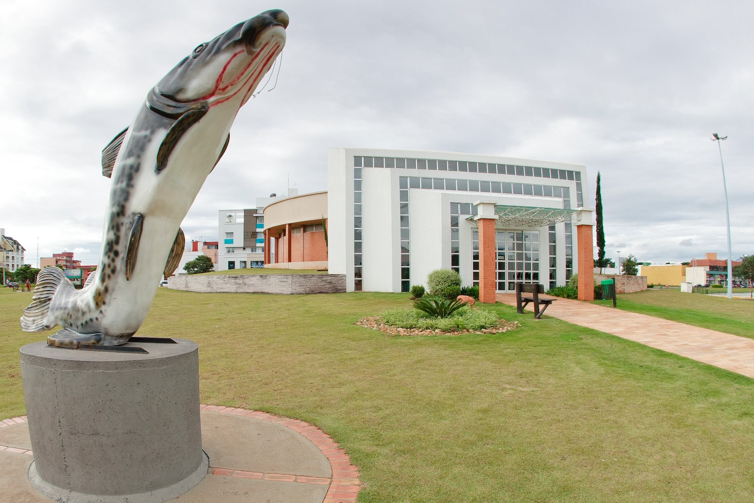 aquario municipal fachada foto fabio ulsenheimer • Aquário Dr. Rômulo Martinelli reabre após três meses fechado para manutenção