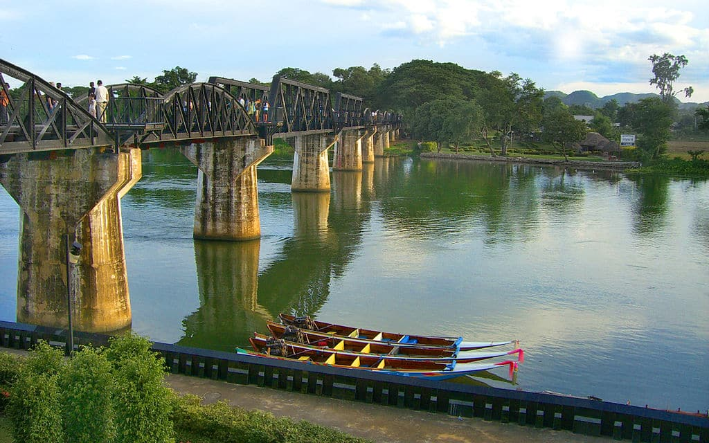 River Mae Klong bridge, Burma Railway