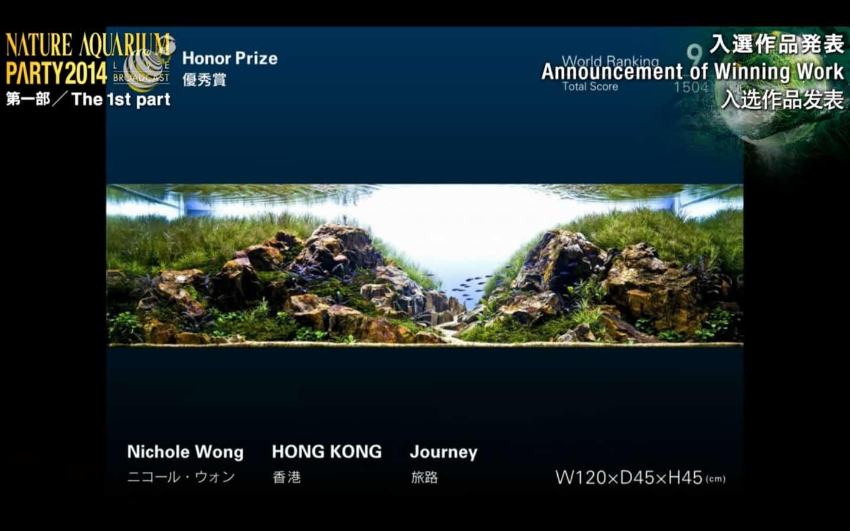Rank 9º -  Nichole Wong - IAPLC 2014