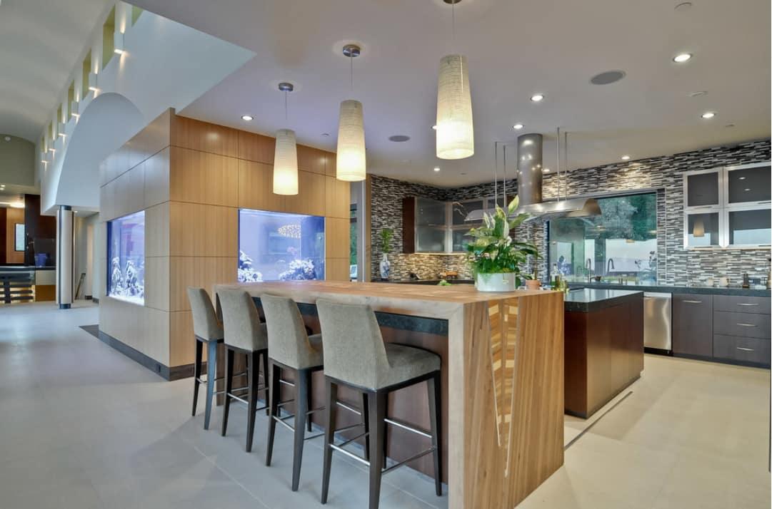 aquarium kitchen -  MASON HAMMER (aquario na cozinha)