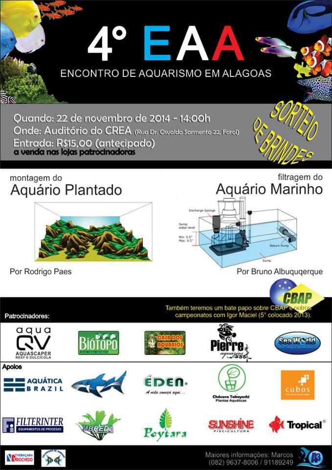 4°Encontro de Aquarismo em Alagoas (EAA)