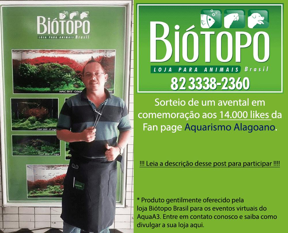 Sorteio Avental da loja Biótopo Brasil