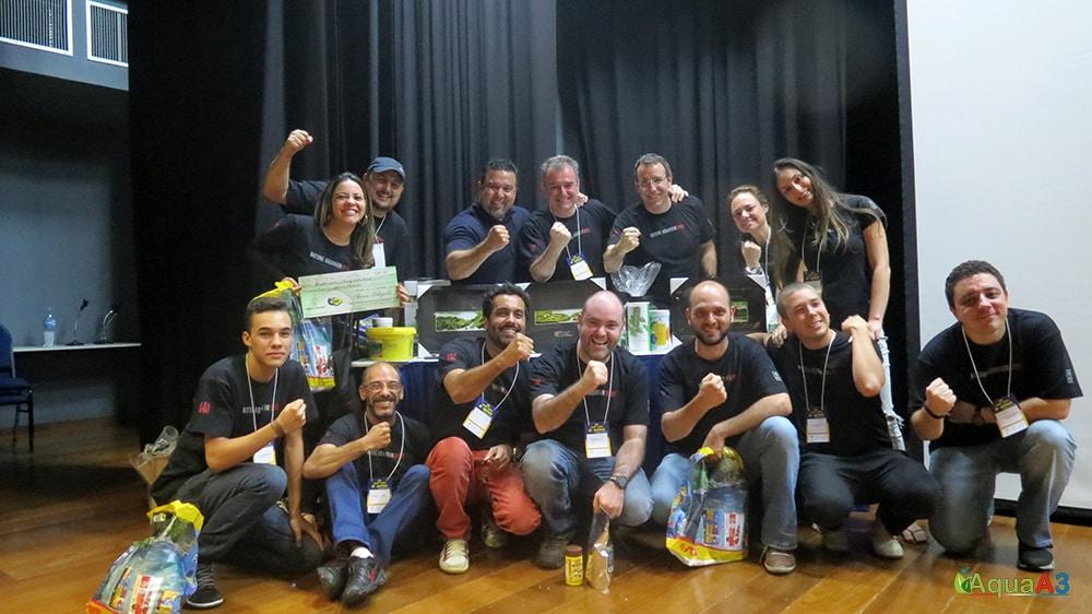 CBAP - Concurso Brasileiro de Aquapaisagismo vencedores - Aquabase saudação