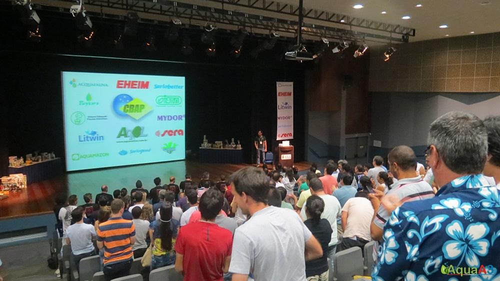 Encontro Brasileiro de Aquarismo (EBA) Marne Campos sobre o CBAP