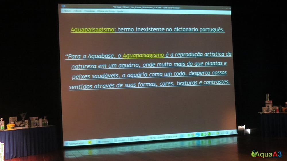 Encontro Brasileiro de Aquarismo (EBA) O que é aquapaisagismo