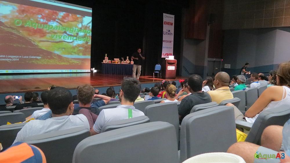 Encontro Brasileiro de Aquarismo (EBA) abertura com André Longarço