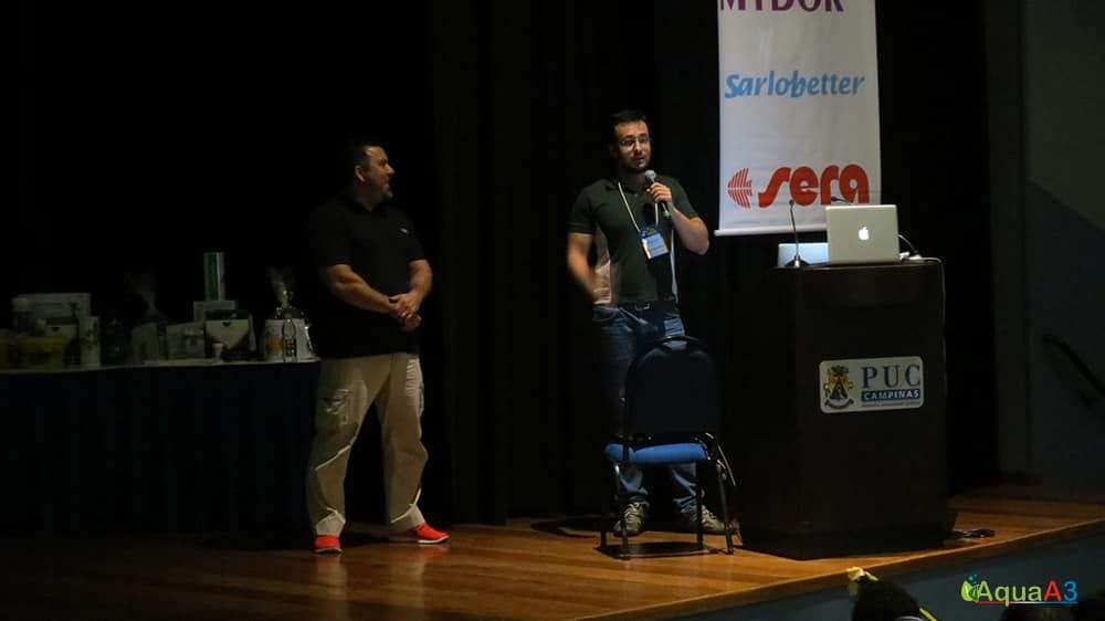Encontro Brasileiro de Aquarismo (EBA) abertura com André Longarço e Marne Campos