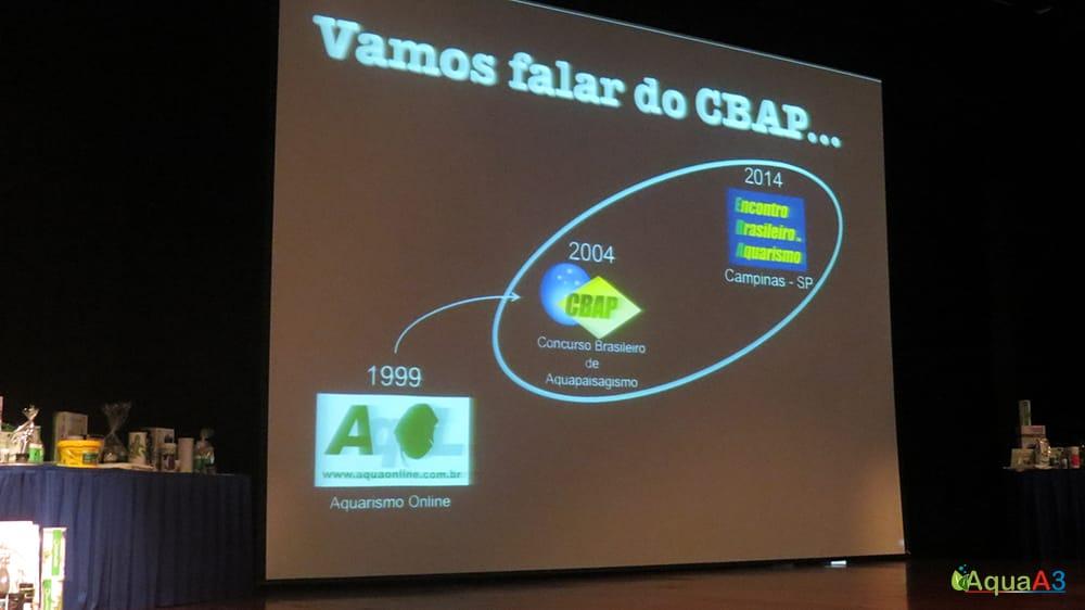 Encontro Brasileiro de Aquarismo (EBA) evolução CBAP
