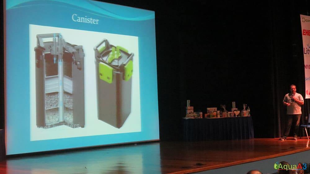Encontro Brasileiro de Aquarismo (EBA) palestra Renato Moterani