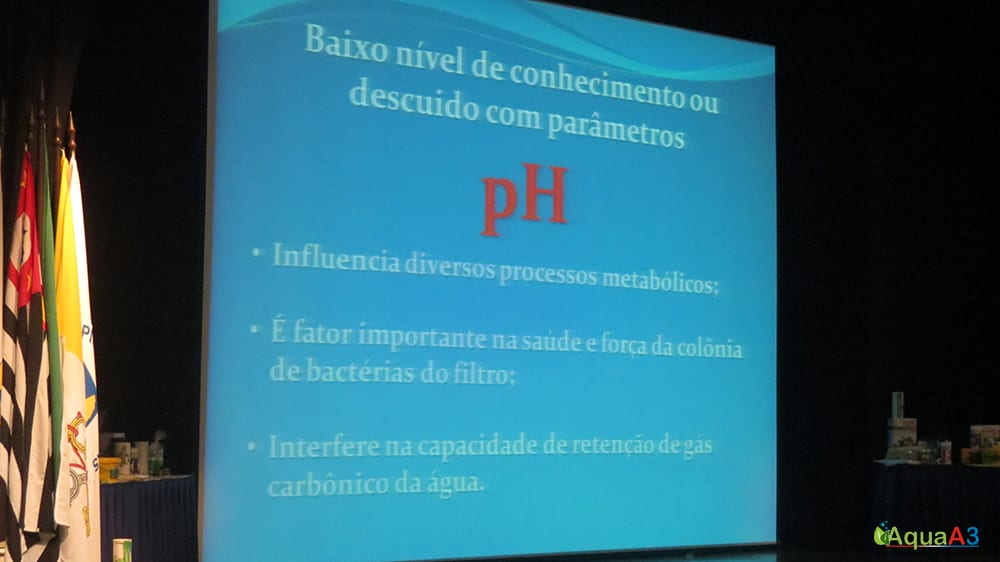 Encontro Brasileiro de Aquarismo (EBA) palestra Renato Moterani sobre pH