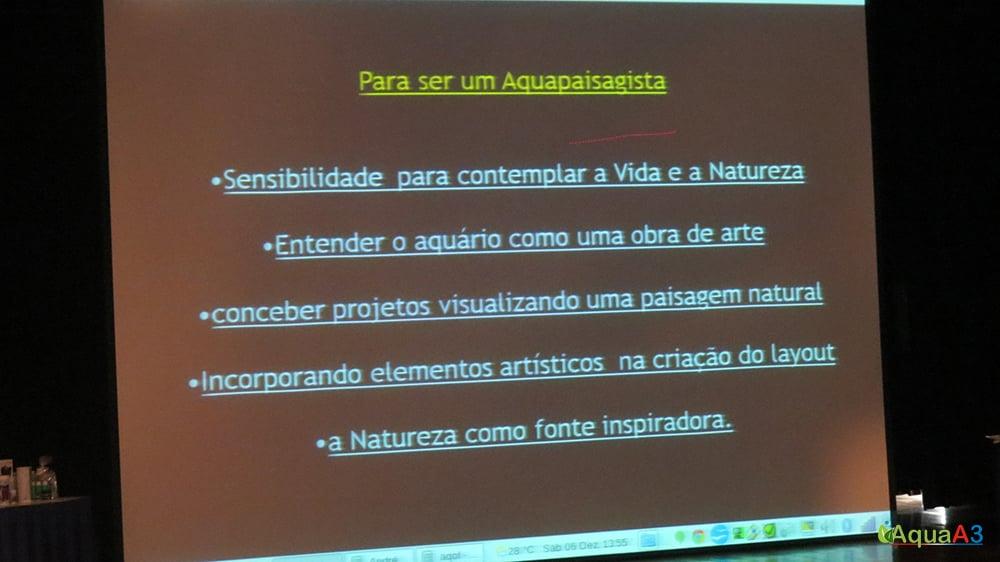 Encontro Brasileiro de Aquarismo (EBA) para ser um aquapaisagista
