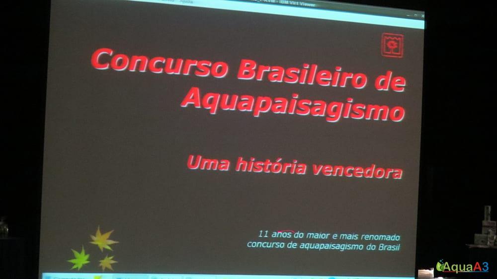 Encontro Brasileiro de Aquarismo (EBA) sobre concurso de aquapaisagismo