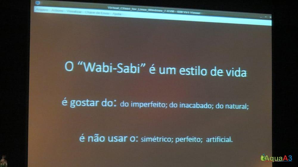 Encontro Brasileiro de Aquarismo (EBA) wabisabi