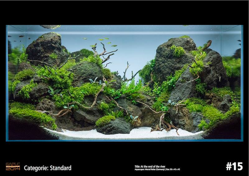 Rank 15 German Aquatic Plants Layout Contest  - GAPLC 2014