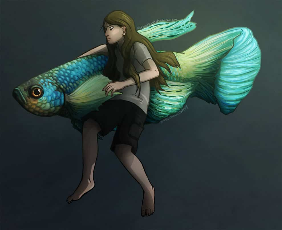Apenas um peixinho AquaA3 • Apenas um peixinho Betta