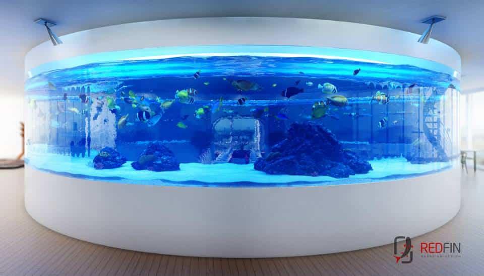 Red Fin Aquarium Design