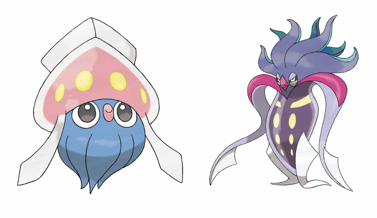 Pokémon Inkay e Malamar
