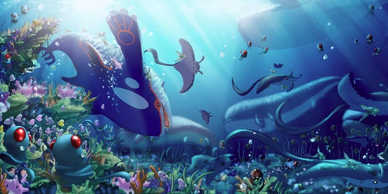 Pokémon subaquáticos