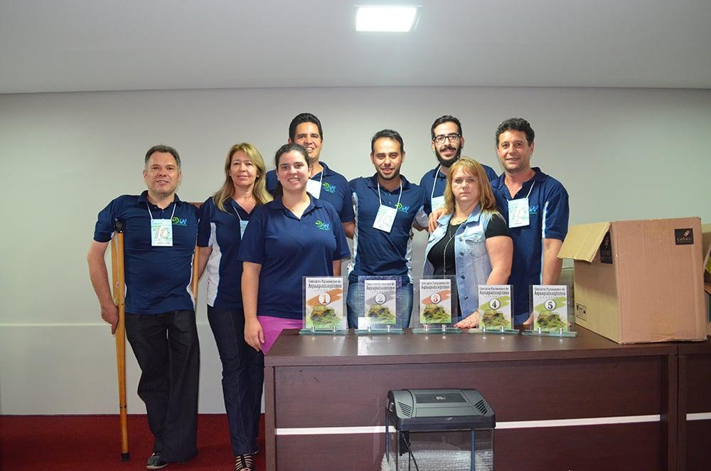 Equipe GAP no aqualon 2015
