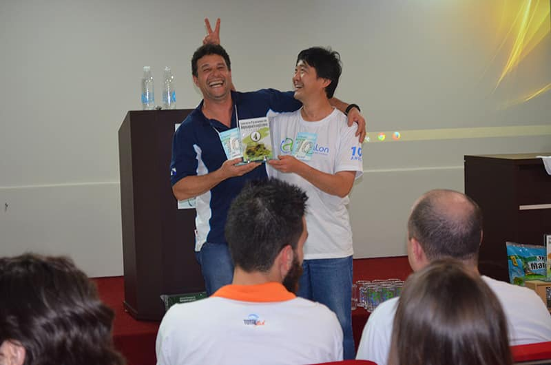 Everaldo Barbosa e Rony Suzuki