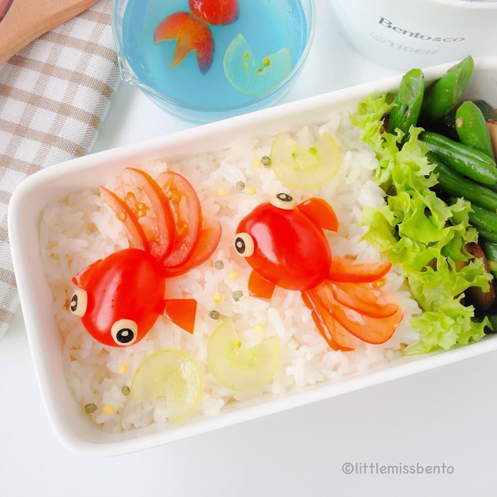 O Peixe Dourado originalmente foi criado por causa de sua carne.