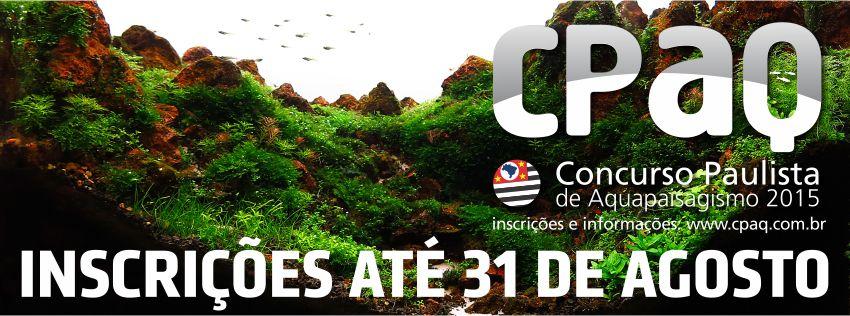 CPAQ Concurso Paulista de Aquapaisagismo - 2015