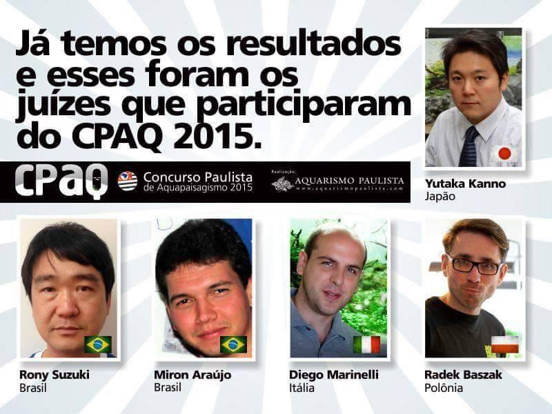 Comissão Julgadora CPAQ 2015