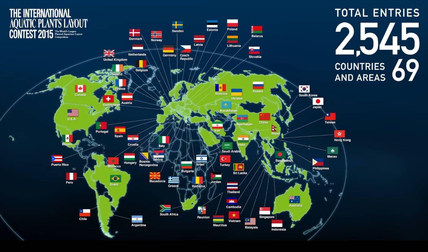 International Aquatic Plants Layout Contest - Total Entries