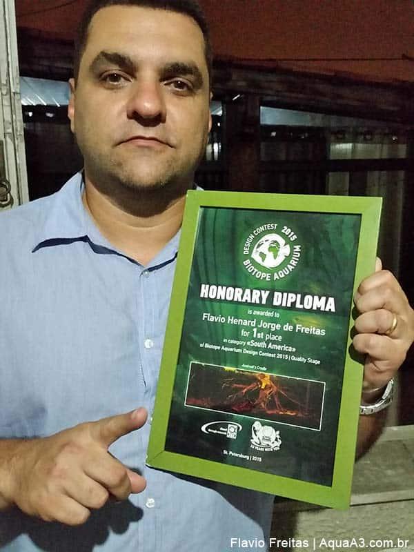 Flavio Freitas conquista 1º colocado em concurso de biótopo