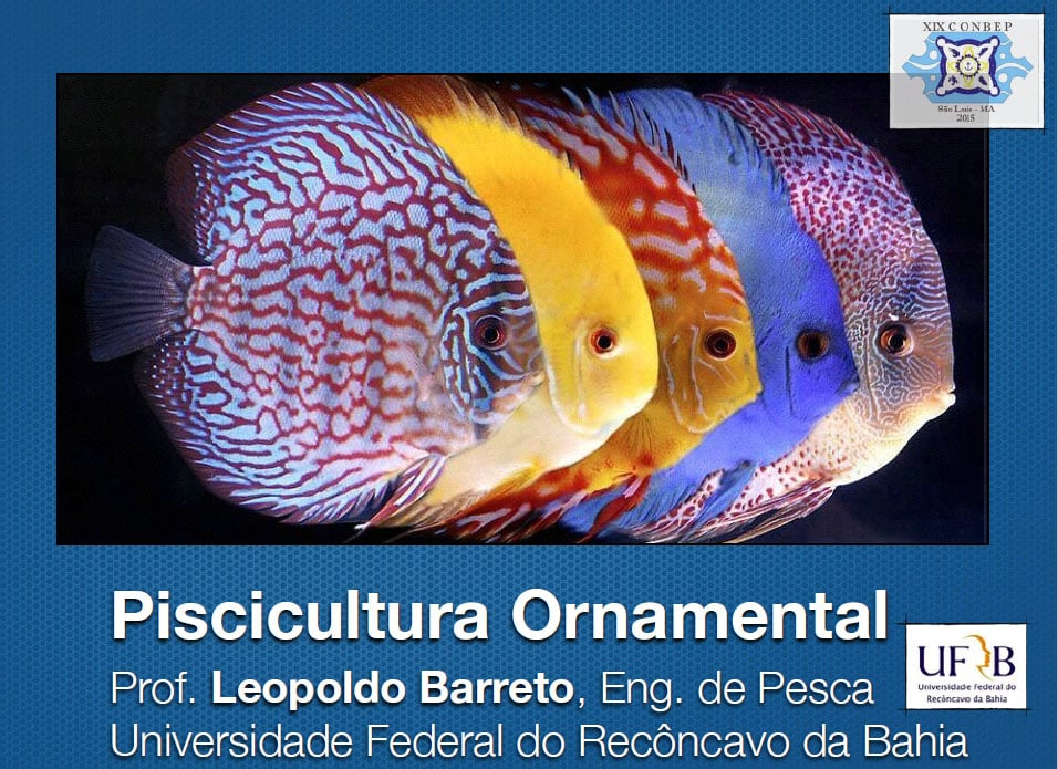 Curso Piscicultura Ornamental - CONBEP 2015