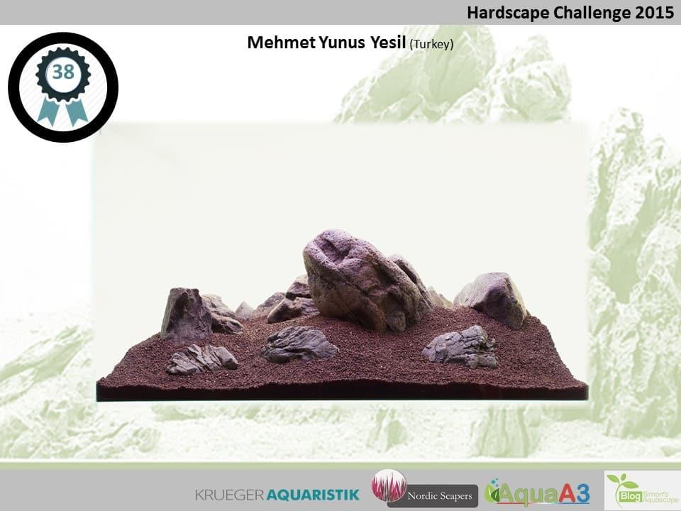 38 rank Mehmet Yunus Yesil - NSHC 2015