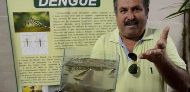 Riacho das Almas distribui peixes e reduz 75% de focos do Aedes aegypti