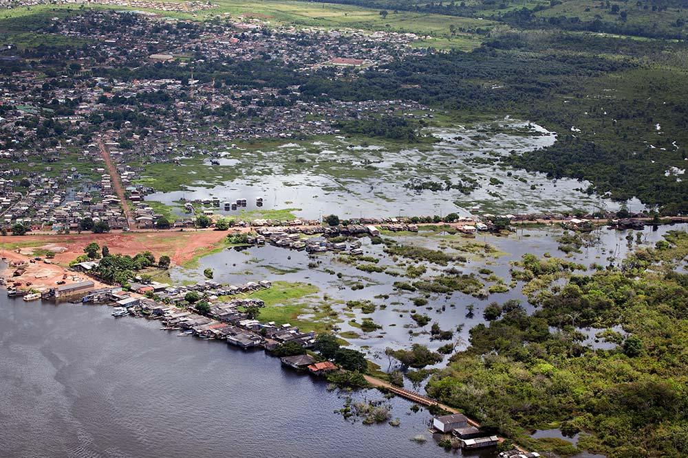 Usina Hidrelétrica de Belo Monte no Rio Xingu