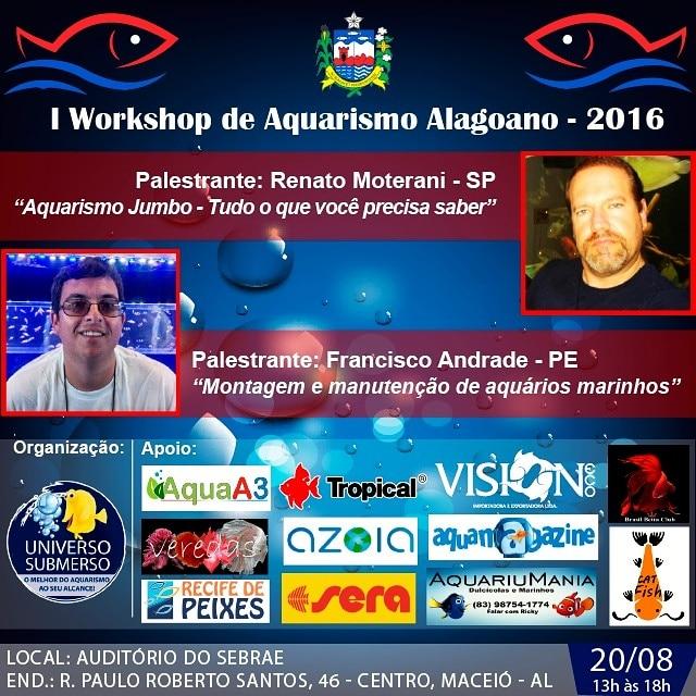 1º Workshop de Aquarismo Alagoano 2016