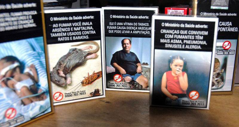 O fumo causa malefícios diretamente nos peixes ornamentais