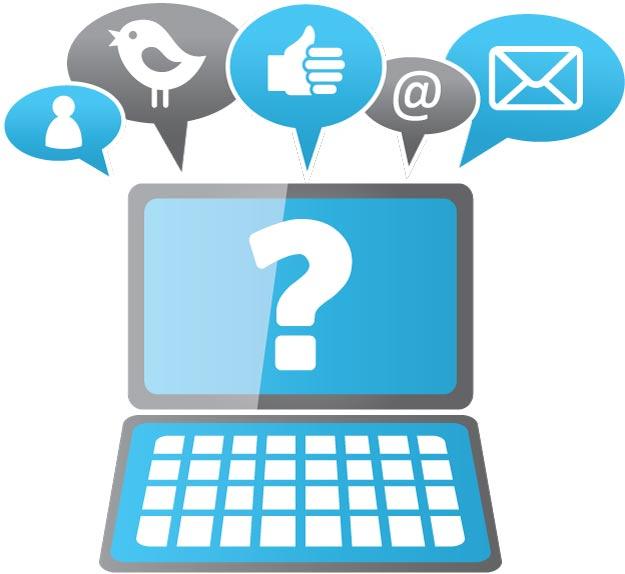 perguntas nas rede sociais