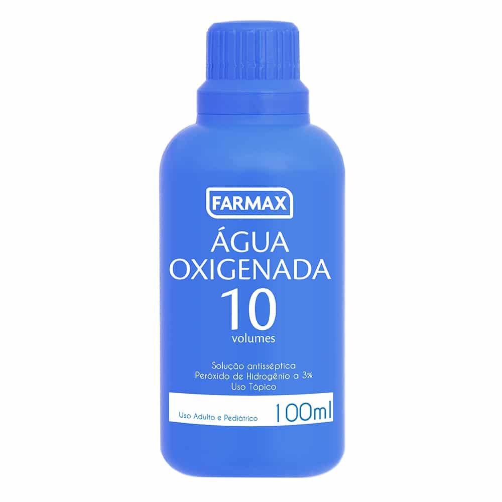 água oxigenada farmax 10